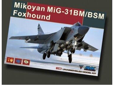 AMK - Mikoyan MiG-31BM/BSM Foxhound, 1/48, 88003