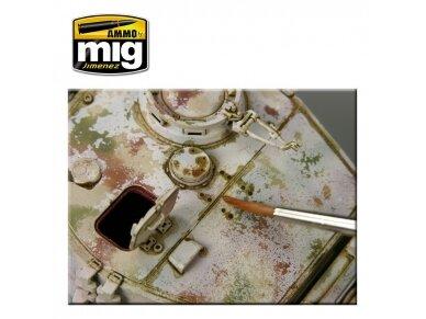 AMMO MIG - BROWN WASH FOR GERMAN DARK YELLOW, 35ml, 1000 2