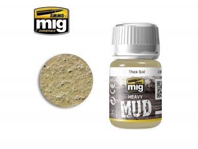 AMMO MIG - THICK SOIL, 35ml. AMIG1701