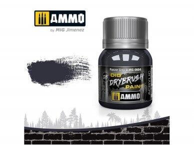 AMMO MIG - DRYBRUSH Panzer Grey, 40ml, 0604
