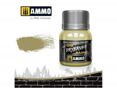 AMMO MIG - DRYBRUSH Medium German Yellow, 40ml, 0617