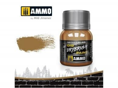 AMMO MIG - DRYBRUSH Light Brick, 40ml, 0626