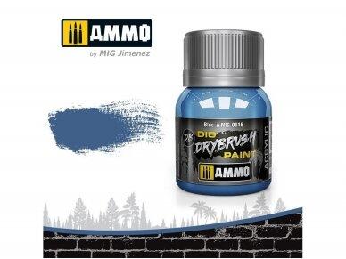 AMMO MIG - DRYBRUSH Blue, 40ml, 0615