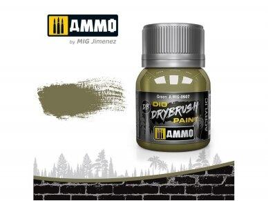 AMMO MIG - DRYBRUSH Green, 40ml, 0607