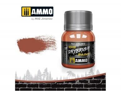AMMO MIG - DRYBRUSH Rust, 40ml, 0612