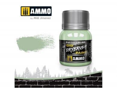 AMMO MIG - DRYBRUSH Bright Green, 40ml, 0605