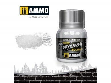 AMMO MIG - DRYBRUSH Light Metal, 40ml, 0621