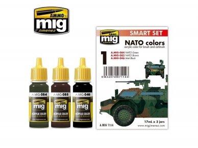 AMMO MIG - NATO COLOR SET. AMIG7114