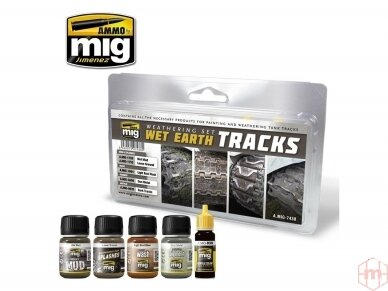 AMMO MIG - WET EARTH TRACKS. AMIG7438