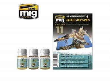 AMMO MIG - DESERT AIRPLANES SET. AMIG7424