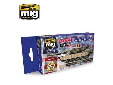 AMMO MIG - MODERN USA ARMY COLORS. AMIG7159