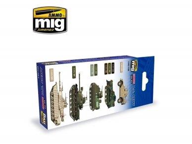 AMMO MIG - MODERN USA ARMY COLORS. AMIG7159 2