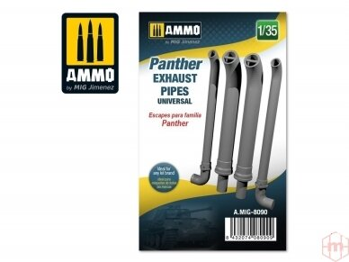 AMMO MIG - Panther exhausts pipes universal, 1/35, 8090