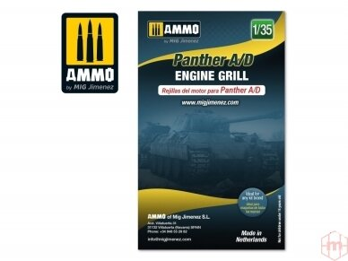 AMMO MIG - Panther A/D engine grilles, 1/35, 8089 2