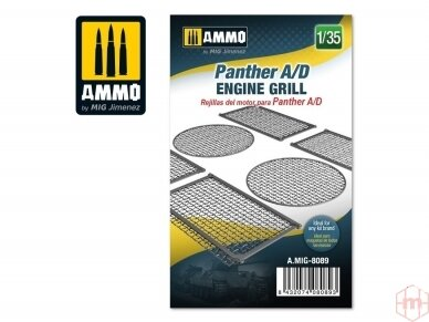 AMMO MIG - Panther A/D engine grilles, 1/35, 8089