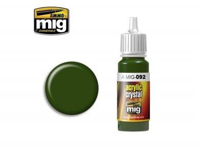 AMMO MIG - CRYSTAL GREEN, 17ml. 0092