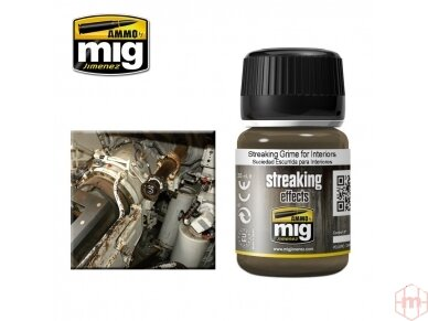 AMMO MIG - STREAKING GRIME FOR INTERIORS, 35ml, 1200