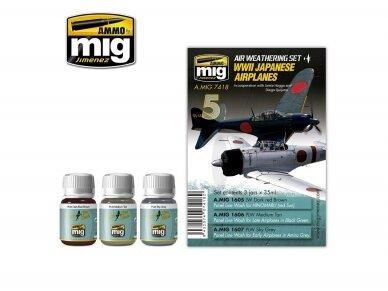 AMMO MIG - WWII JAPANESE AIRPLANES. AMIG7418