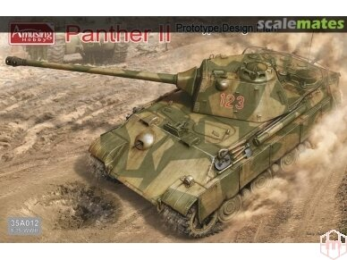 Amusing Hobby - Panther II Prototype Design Plan, Scale: 1/35, 35A012