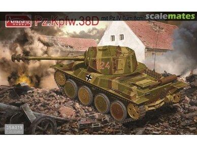 Amusing Hobby - Pz.Kpfw.38D mit Pz.IV Tum 8cm PAW 60, Scale: 1/35, 35A019