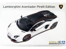 Aoshima - Lamborghini Aventador Pirelli Edition, 1/24, 06121