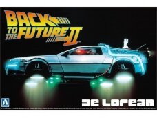 Aoshima - Back to the Future II Delorean, Mastelis: 1/24, 05917