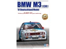 Aoshima Beemax - BMW M3 (E30) `91 Deutschland Model, Scale: 1/24, 09819
