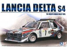 Beemax - Lancia Delta S4 Monte Carlo Rally 1986 su priedais, Mastelis: 1/24, B24020, E24020