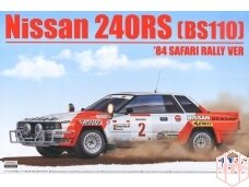 Aoshima Beemax - Nissan 240RS BS110 `84 Safari Rally, Mastelis: 1/24, 10433, 24014