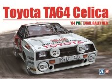 Aoshima Beemax - Toyota TA64 Celica `84 Portugal Rally Version, Scale: 1/24, 10314, 24011