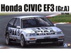 Aoshima - EF3 Civic Gr.A `89 PIAA, Mastelis: 1/24, 08458