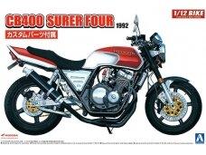 Aoshima - Honda CB400 Surer Four 1982 w/Custom Parts, Mastelis: 1/12, 05514