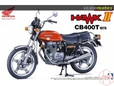 Aoshima - Honda Hawk II CB400T 1978, Scale: 1/12, 05396