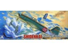 Aoshima - Kawanishi N1K2-J Shidenkai, Scale: 1/72, 01174