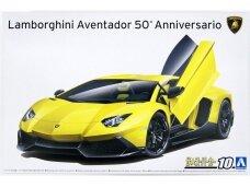 Aoshima - Lamborghini Aventador 50° Anniversario, 1/24, 05982
