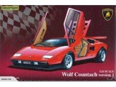 Aoshima - Lamborghini Countach Wolf, Scale: 1/24, 04960