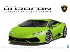 Aoshima - Lamborghini Huracan LP610-4, Mastelis: 1/24, 01382