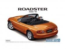 Aoshima - Mazda MX-5 Roadster NB8C '99, Mastelis: 1/24, 05792