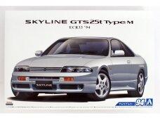 Aoshima - Nissan ECR33 Skyline GTS25t Type M 1994, Mastelis: 1/24, 05654