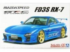 Aoshima - Mazda speed FD3S RX-7 A Spec GT Concept `99, 1/24, 06147