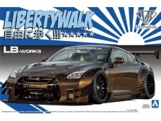Aoshima - LB Works R35 GT-R Type 2 Ver.1, Scale:1/24, 05591