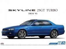 Aoshima - Nissan ER34 Skyline 25GT Turbo `01, 1/24, 06172