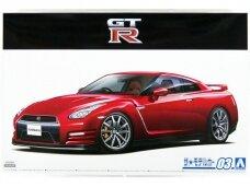 Aoshima - Nissan R35 GT-R Pure Edition '14, 1/24, 05857