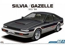Aoshima - Nissan S12 Silvia/Gazelle Turbo RS-X '84, 1/24, 06229