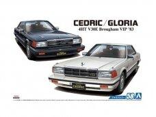 Aoshima - Nissan Y30 Cedric/Gloria 4HT V30E Brougham Vip '83, Mastelis: 1/24, 05478