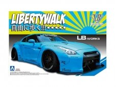 Aoshima - LB Works R35 GT-R Ver.1, Scale: 1/24, 05402