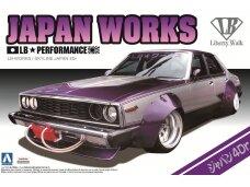 Aoshima - Nissan Skyline LB Works Japan 4Dr, Mastelis: 1/24, 00980