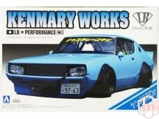 Aoshima - Kenmary Works LB Works Nissan Skyline C110 2Dr 2014 Ver., 1/24, 01147
