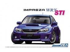 Aoshima - Subaru GRB Impreza WRX STI, Mastelis: 1/24, 05834