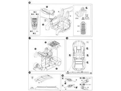 Aoshima - Lamborghini Aventador LP700-4 Roadster, Mastelis: 1/24, 00865 17